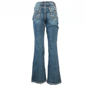 Silver suki mid slim boot jeans 29x31